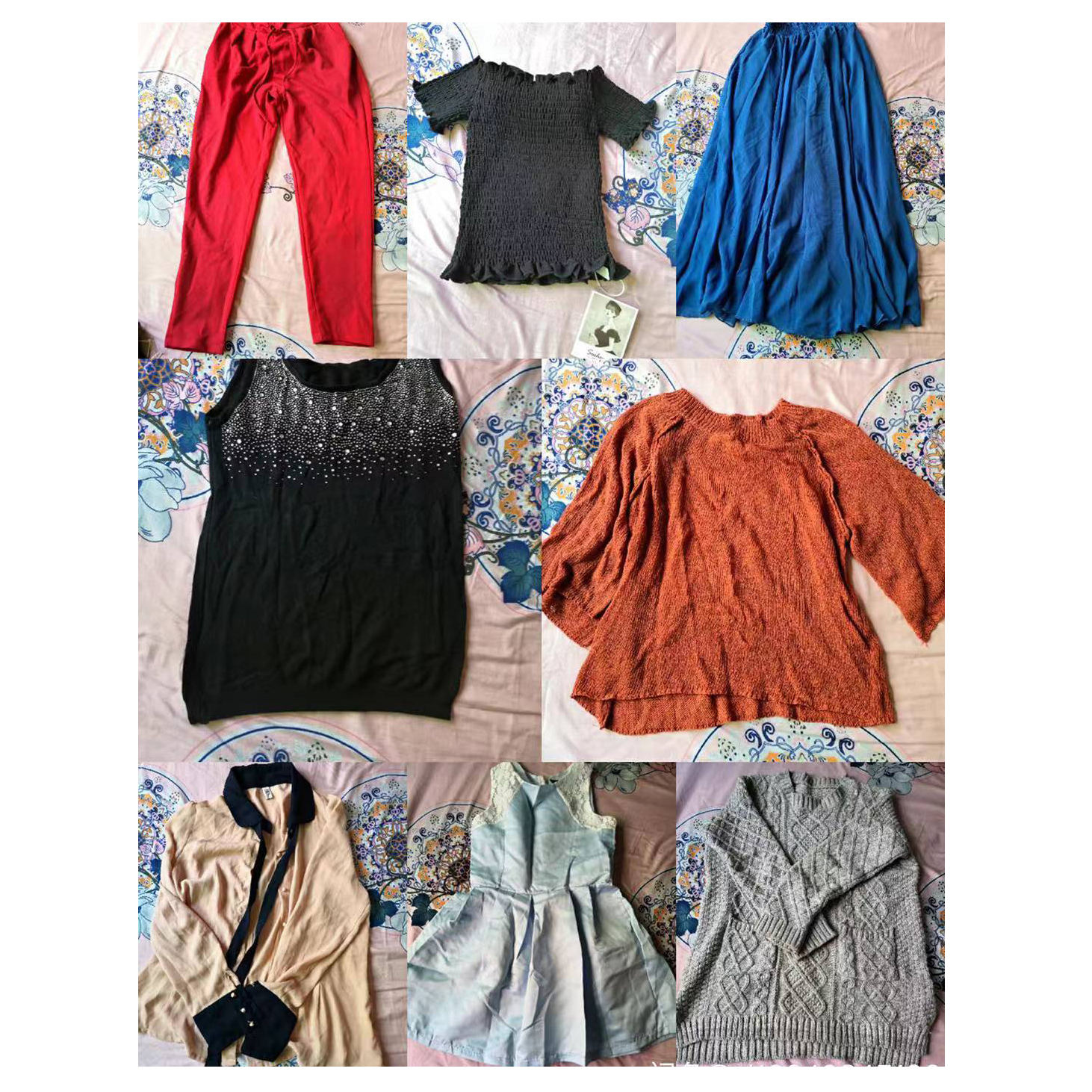 From asian mixed used clothes for sale