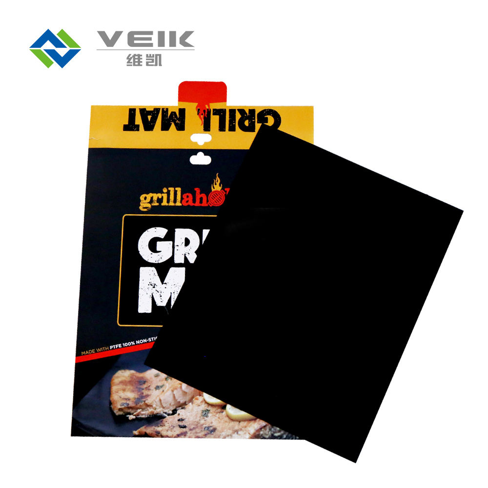 Hot sale outdoor kitchen cooking tools non-stick BBQ grill mat