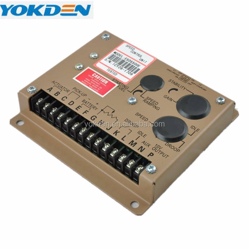 Generator Engine Control Panel Speed Governor ESD5500E