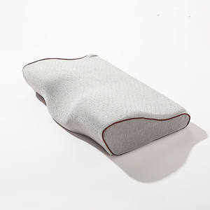 Hot Sale High Quality Orthopedic Ergonomic Cervical Contour Memory Foam Latex Pillow For Neck Support