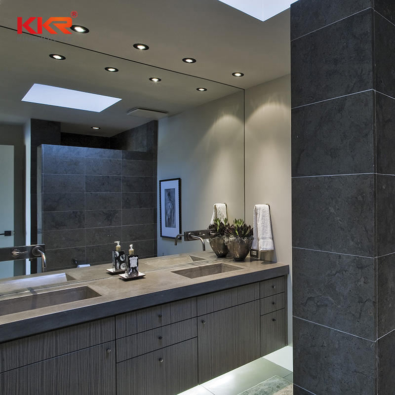 KKR Customized Modern Solid Surface Vanity Top