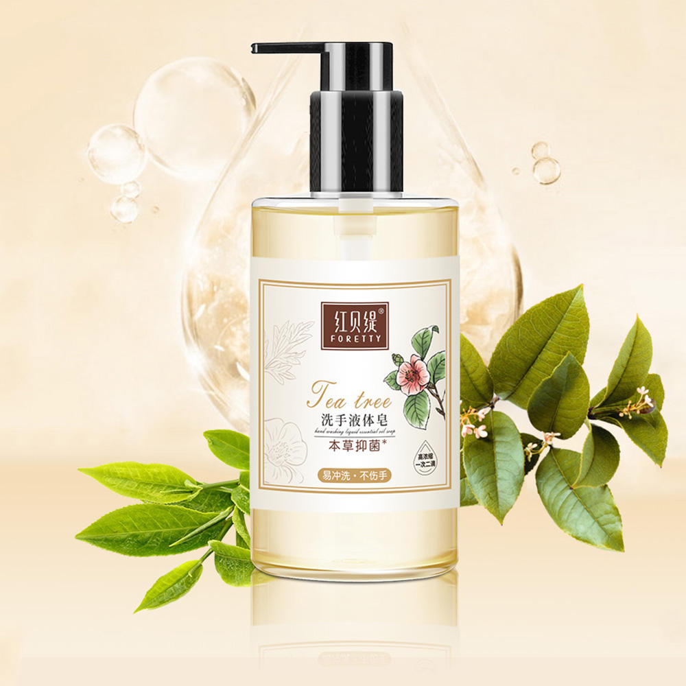 Tea Tree Removing Bacterial Sulfate Free Liquid Saponified Hand Soap