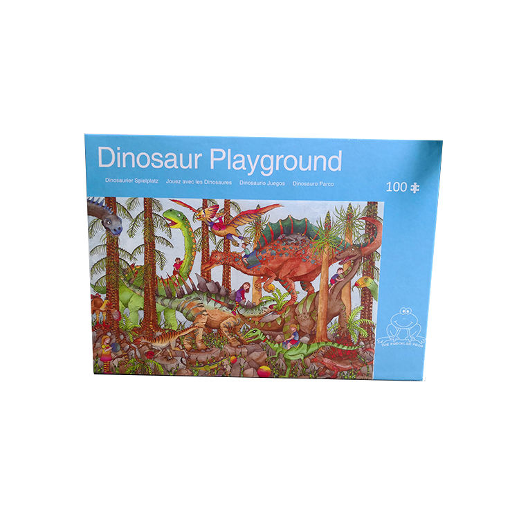 Dinosaur Hard Iq Game Animal Jigsaw Small Baby Puzzle