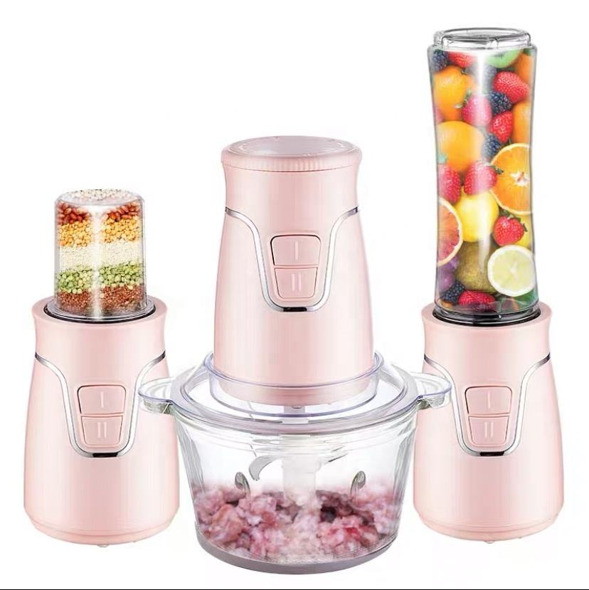 Manufacturer Price 3 in 1 Portable Electric food processors multi-function