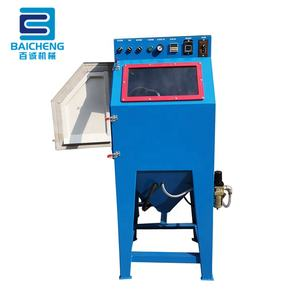 Small automatic deburring machine drum sand blasting machine