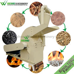 WEIWEI MACHINERY wood sawdust machine price manufacturers waste tree for biomass wood pellet machines