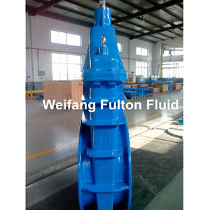 Cast iron resilient seated wedge ppr motorized gate valve