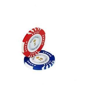 Macao Casino Dadi Poker Chip Set Mini In Bianco Ceramica Poker Chip