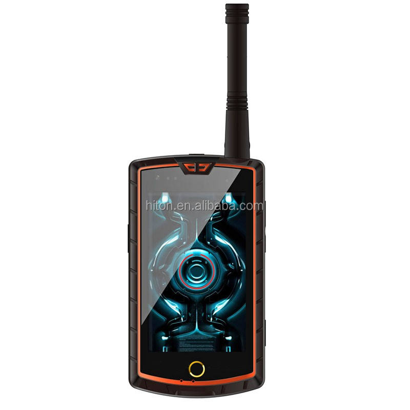 Cheapest factory HiDON 4.0 inch Rugged mobile phone Beidou satellite handheld PDA terminal NFC/SOS/ PTT/ DMR/Beidou Rugged phone