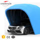 Onesimus foldable portable retractable outdoor steel structure folding car carport garage