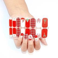 Wholesale Pink Non-toxic Nail Polish Strips Nail Stickers