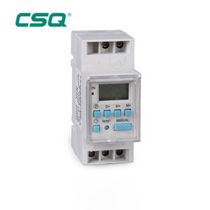 220 V Mingguan Diprogram 3 Phase Time Switch Digital Listrik Timer