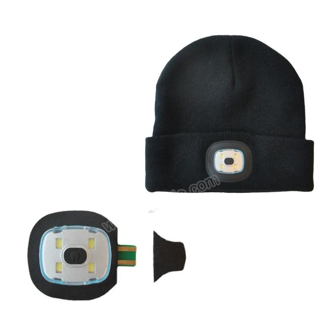LED Portable Head Cap Light With USB Rechargeable Function