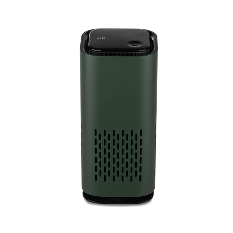 Anion releasing Remove odors and dust air pollutants Compact size Portable mini air purifier for table / desk with usb cable
