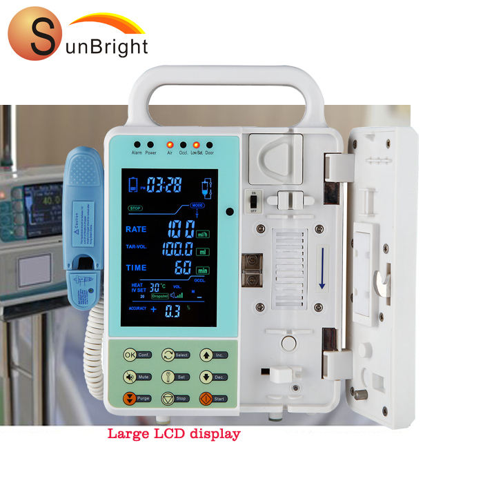 Cheap made in China factory price hospital infusion syringe pump SUN-900