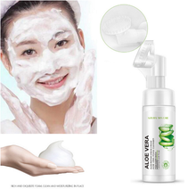 Face Wash Exfoliating Deep Cleansing Hydration Blackheads Skin Care Aloe Facial Cleanser foam Anti Aging Cleansing mousse