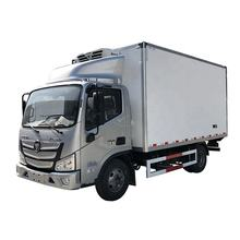 130HP 4X2 Foton aumark refrigerated truck 5 ton Carrier Cooler Meat and Fish Transport Refrigerator Van Truck