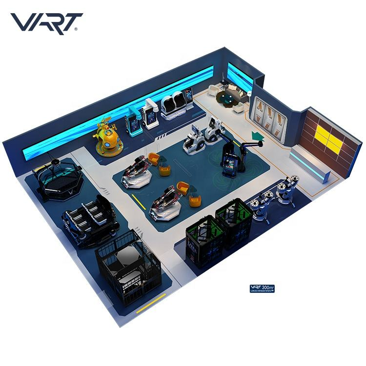 Build A New Business Playground Customized Virtual Reality Equipment VR Amusement Theme Park