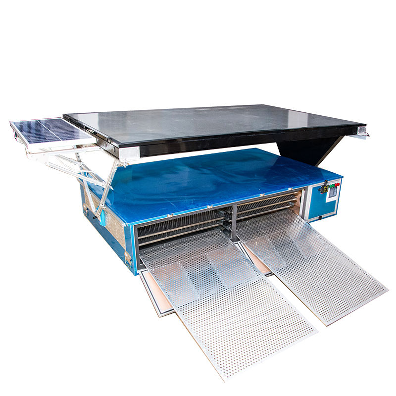 Family use blueberry Solar Fruit Tray Dryer food dehydrator for pineapple drying machine and cassava flash dryer