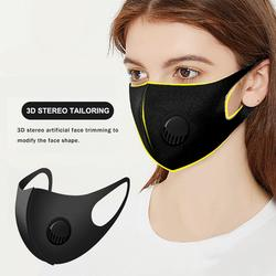 Cotton Face Cover  Breathing Valve Face Cover  Dustproof Windproof  Breathing Face Cover