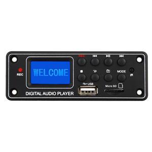 High Quality Digital Display MP3 Module Bluetooth USB SD Audio MP3 Player Decoder Board Dot Matrix LCD TPM-006c