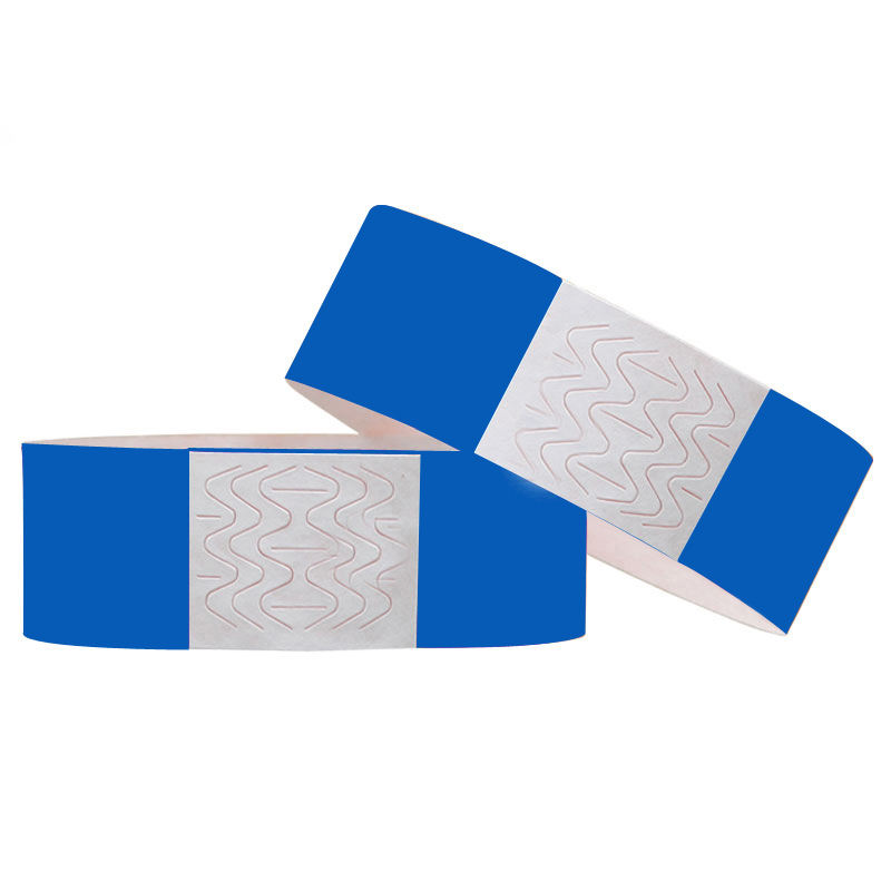 Solid Colors Printable Tyvek Paper Wristbands