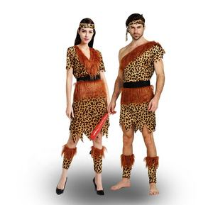 Stage Show Cute Role Play Professional OEM Adult Wild Style Cave Savages Costume