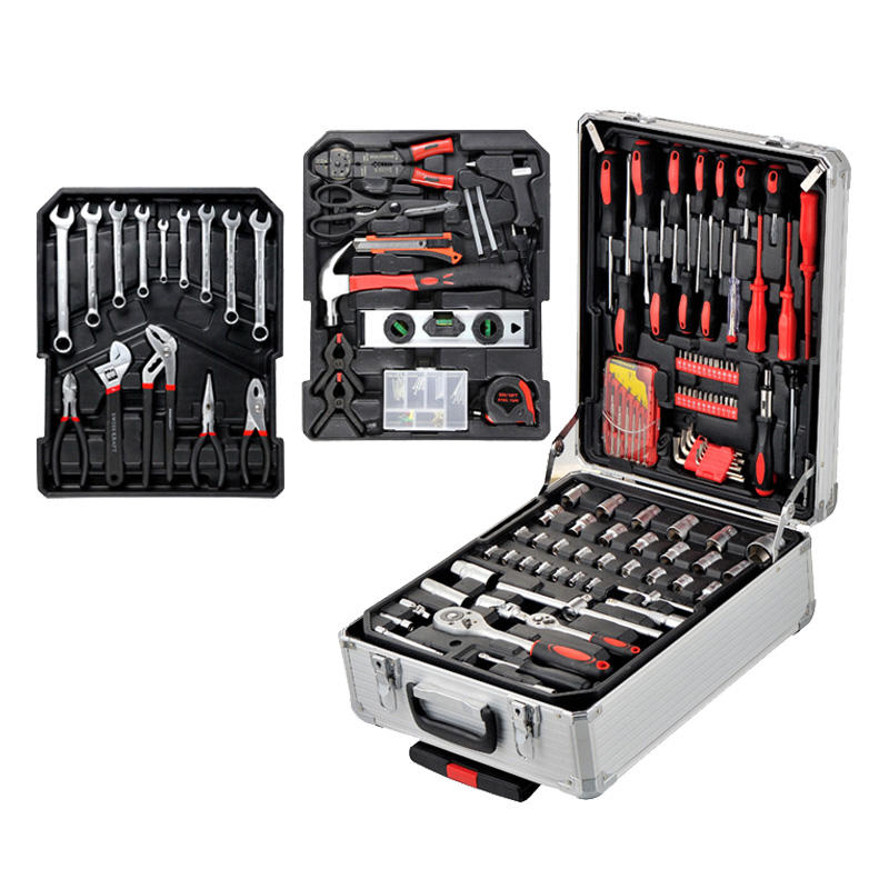 Low MOQ Factory Directly Wholesale Aluminum case hardware tool 186pcs Screwdriver Tool Kit