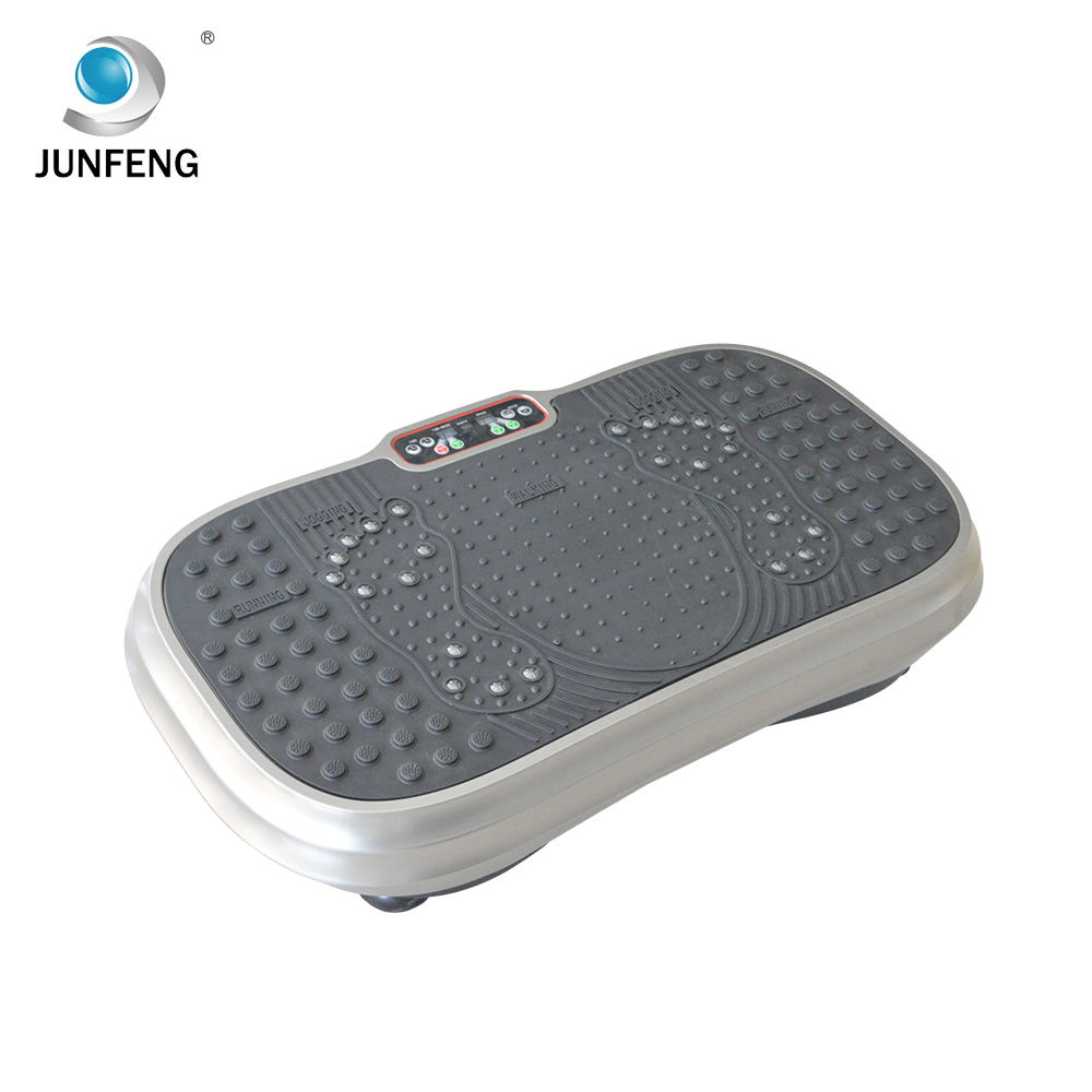 Wholesale bodybuilding fitness equipment weight-loss massage machine vibration plate