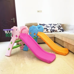 Multifunctional folding storage slide children's indoor up and down slide small household baby toys