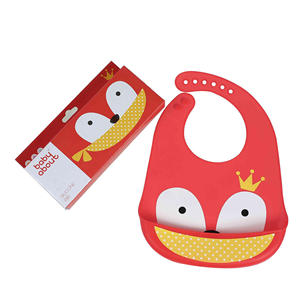 Cheap price hot silicone baby bib feeding waterproof silicone baby bib with pocket