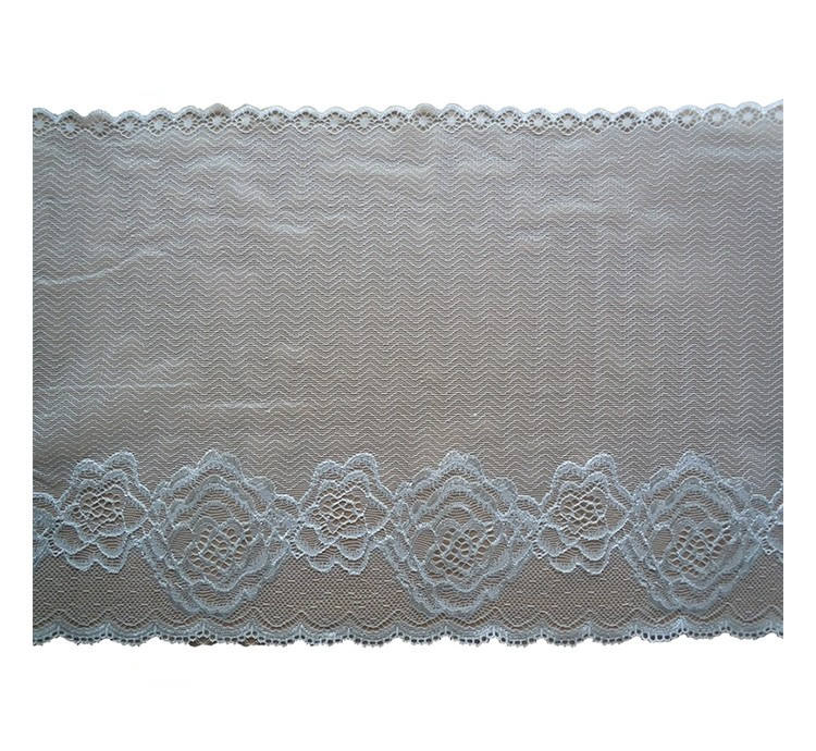 Wholesale surface nylon lace metal fashion metal color lace fabric