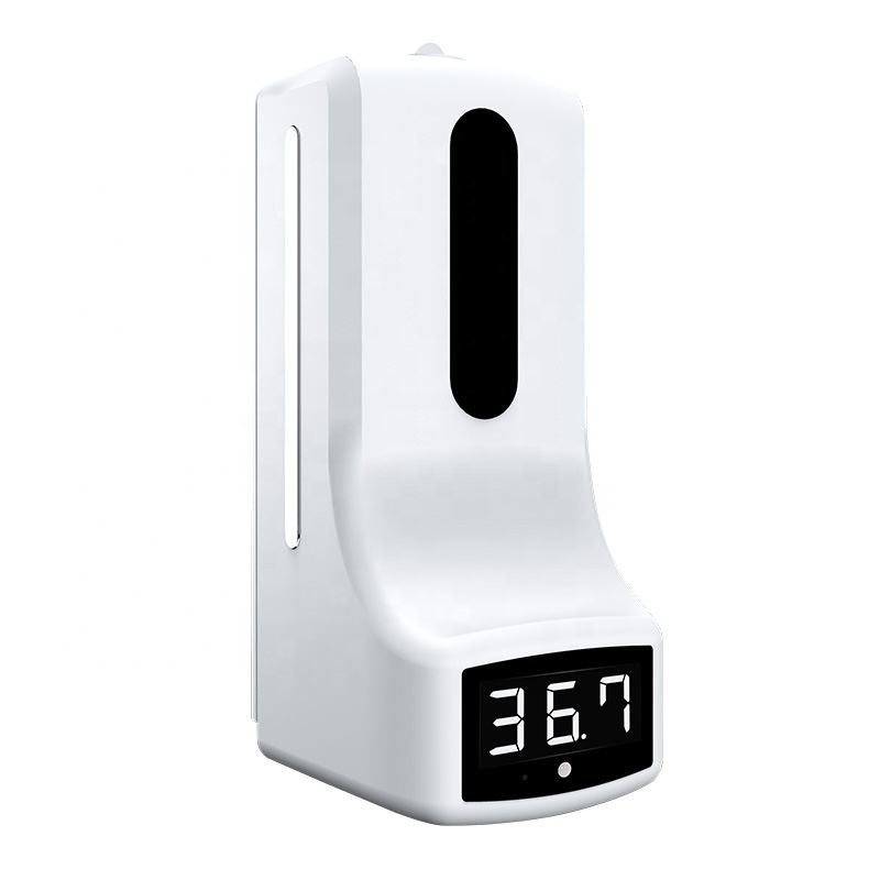 K9 Dispenser Wireless Temperature Sensor Temperature Measurement Distributeur De Savon Avec Prise De Temperature