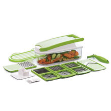 Kitchen multi-functional manual veggie vegetable slicer dicer