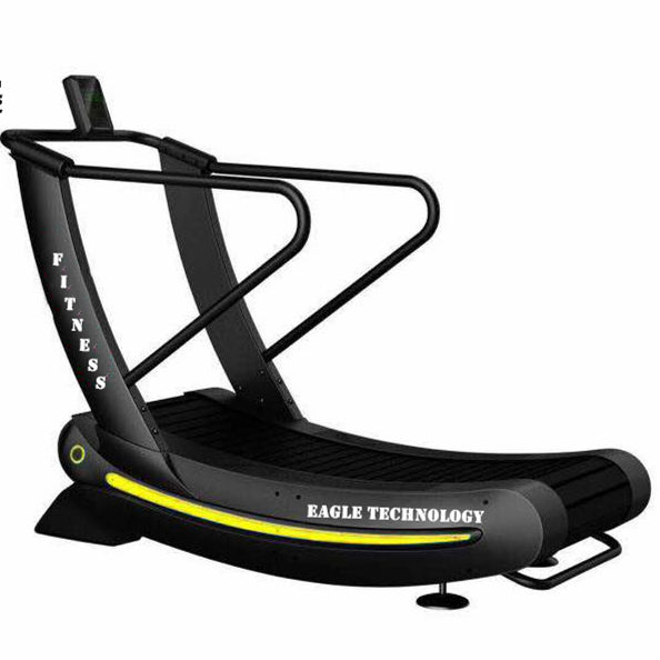 YG-T011Hot sale new Curve treadmill / gym running machine / Self generating treadmill