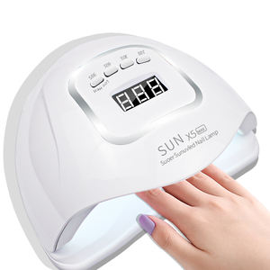 hot selling Amazon products SUNx5 plus/max nail fast drying 120w lamp electric nail dryer