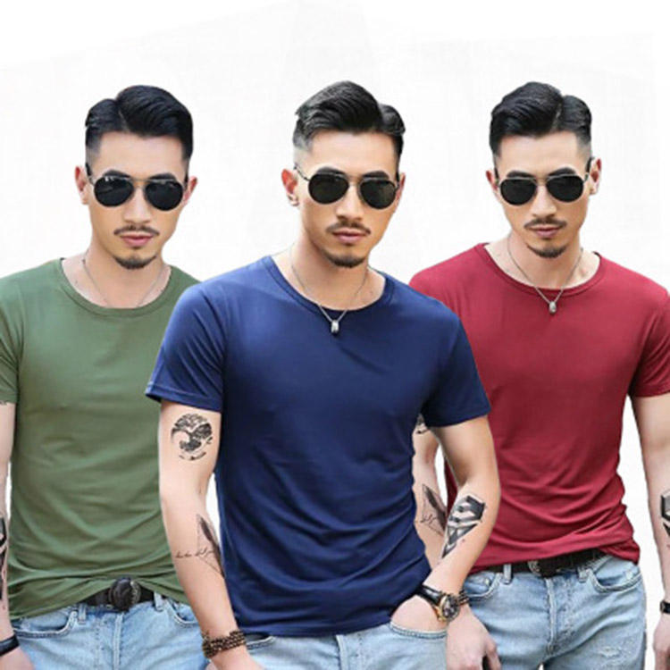 Wholesale high quality fashion 1 dollar t shirts