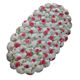 hongxin The red rose shell shape decorative PVC non slip tub bath mat safety shower mat