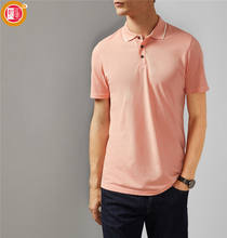 Short Sleeve Shirt Collar Wholesale Custom Cotton Clothes Fashion Polo T Shirts