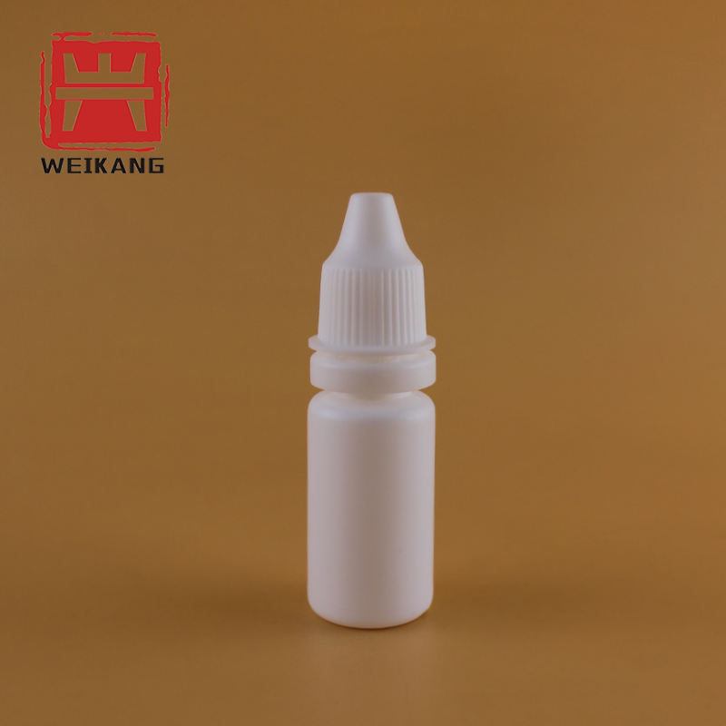 Food Grade PE 10ml Empty Plastic Eye Dropper Packaging Bottle with FDA