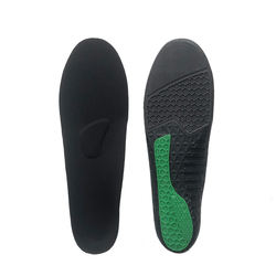 low arch support plantar Running PU silicone gel sport insole for shoes