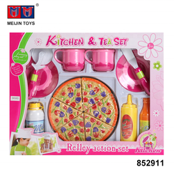 playing house pizza kitchen toys utensil set plastic for kids