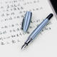 High-Quality promotional fountain pen aluminum medium nib 0.5mm study business fountain pen with gifts box