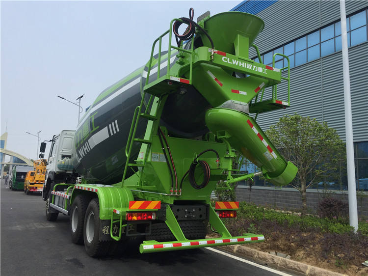 Cement Concrete Mixer Truck 12 Cbm Cement Mixer Vehicle 12000 Liters Concrete Mixer Truck
