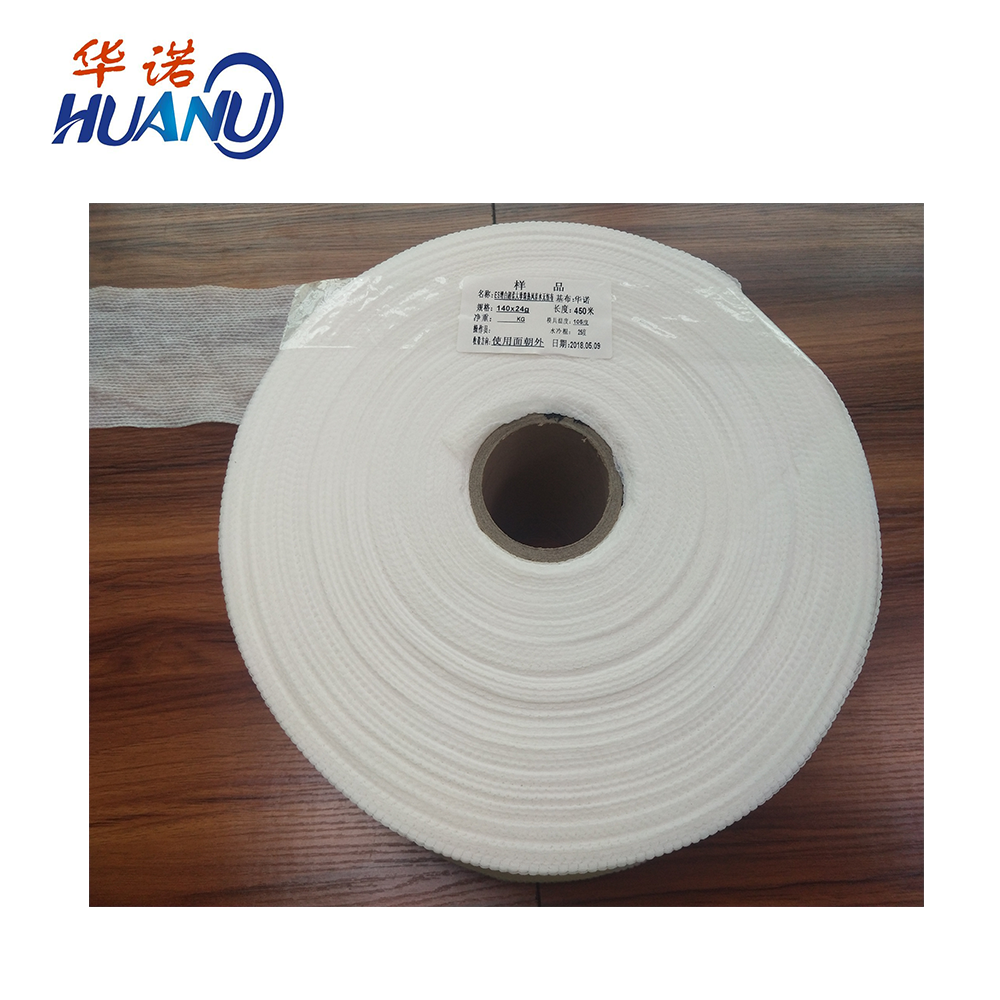 Top Selling High Quality Super Soft ES Fiber Hot Air Nonwoven for Baby Diaper Sanitary Napkin