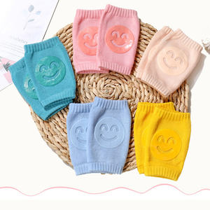 Wholesale Warm Cute Anti Slip Baby Safety Crawling Knee Pads Protector