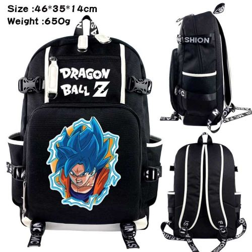 9 Styles Dragon Ball Z Anime Cosplay Toile De Dessin Animé Sac À Dos Coloré