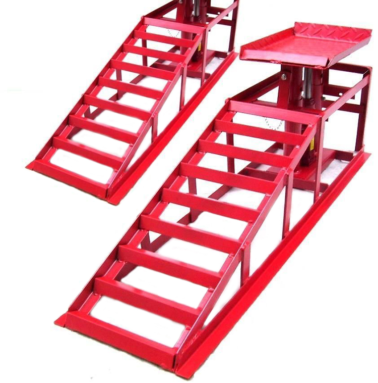 Auto Car Truck Service Ramps Lifts Heavy Duty Hydraulic Lift Repair Frame
