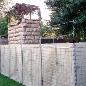 Factory cheap price welded gabion military defense wall hesco blast sand wall hesco barrier