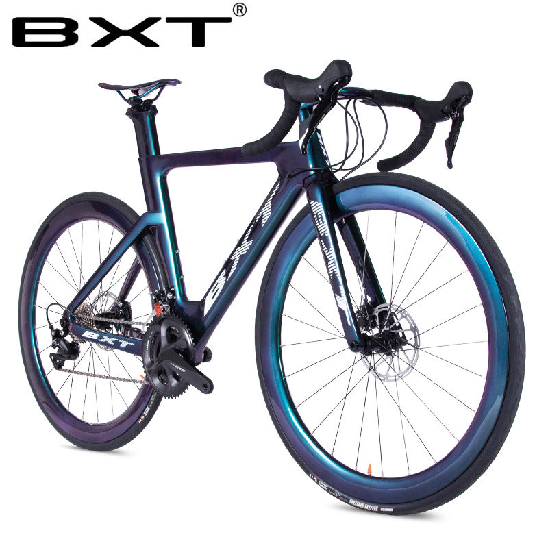 Carbon Bike Racing Complete Bicycle Road 11 Speed City Bike disc brake Road Bicycle